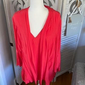 New Sejour 2-piece blouse/jacket set size plus 2X